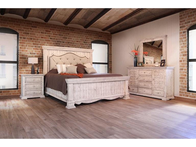 4 Piece Queen Bed Set, solid wood
