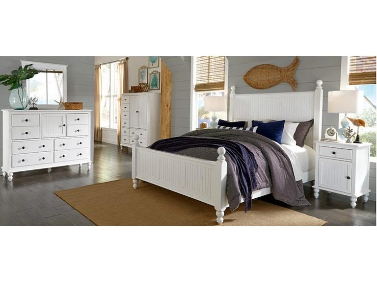 4 Piece Bedroom Set, Solid Wood