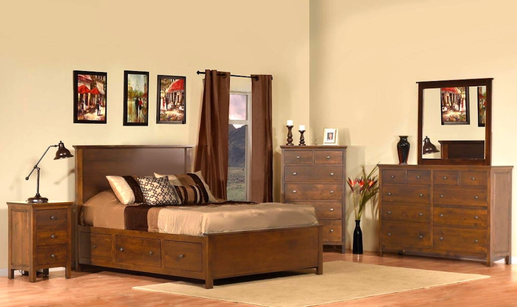 Heritage Storage Bed By Archbold Furniture Compnay