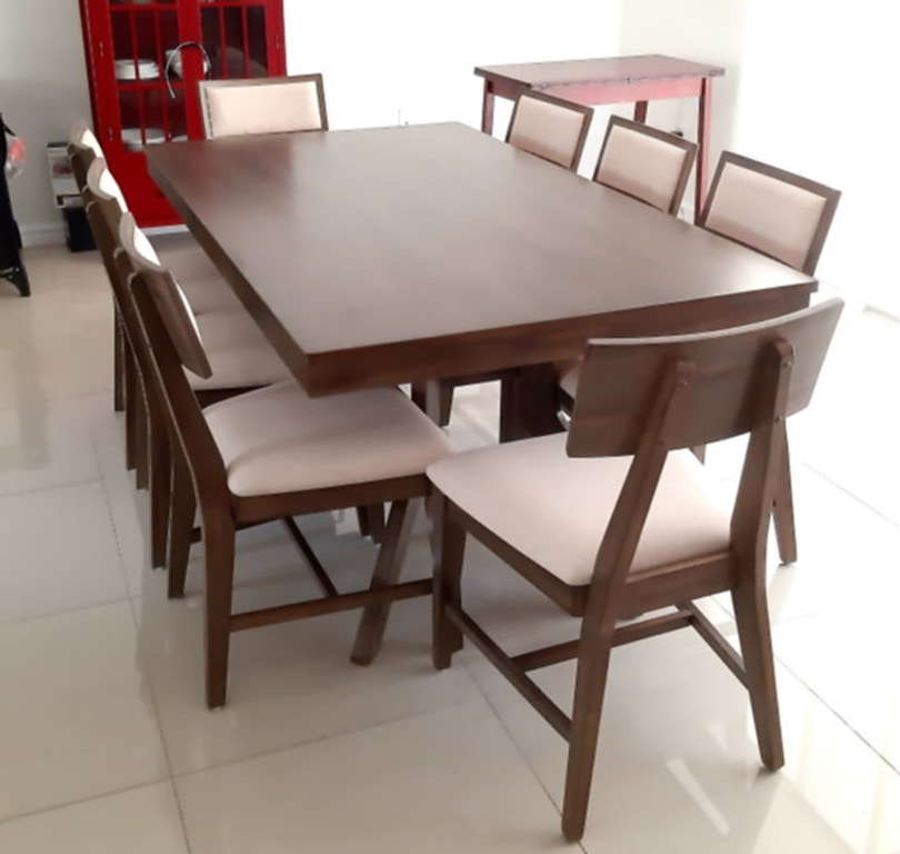 Luxe Solid Wood Dining Room Set