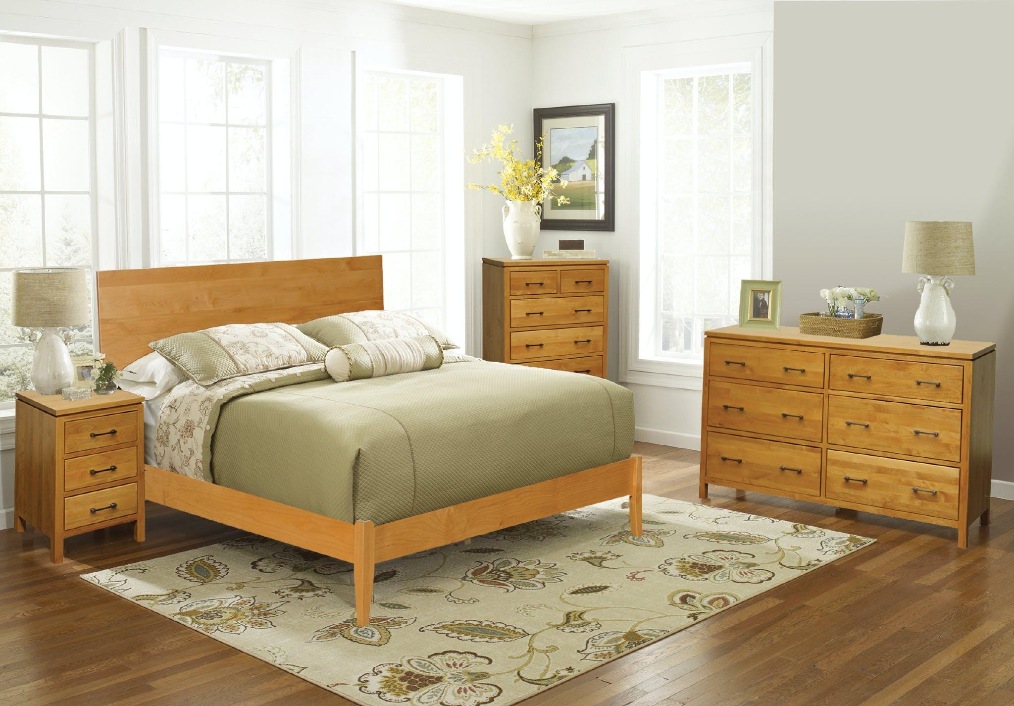 Archbold Furniture 2 West Bedroom Set Solid Wood