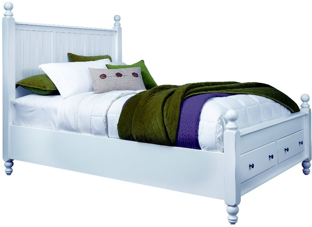 John Thomas Bedroom Solid Wood Cottage Queen Storage Bed Bd07 202qn