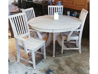John Thomas Dining Room Sienna 48 Round Table Unfinished