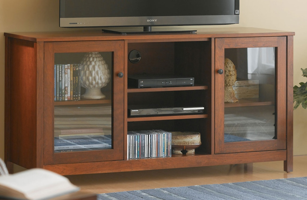 Living Room 60 Tv Stand Glass Doors Vergennes Vt
