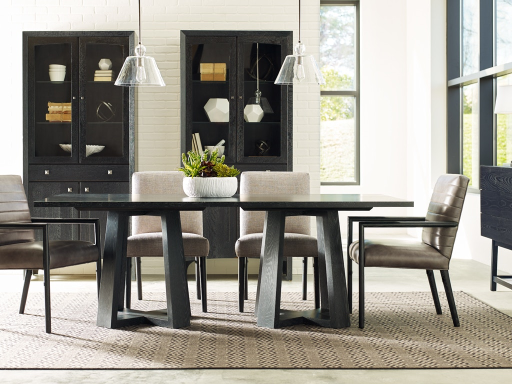 Stickley Dining Room Modern Loft Rectangular Dining Table Ss 104 3000 At  Toms Price Furniture
