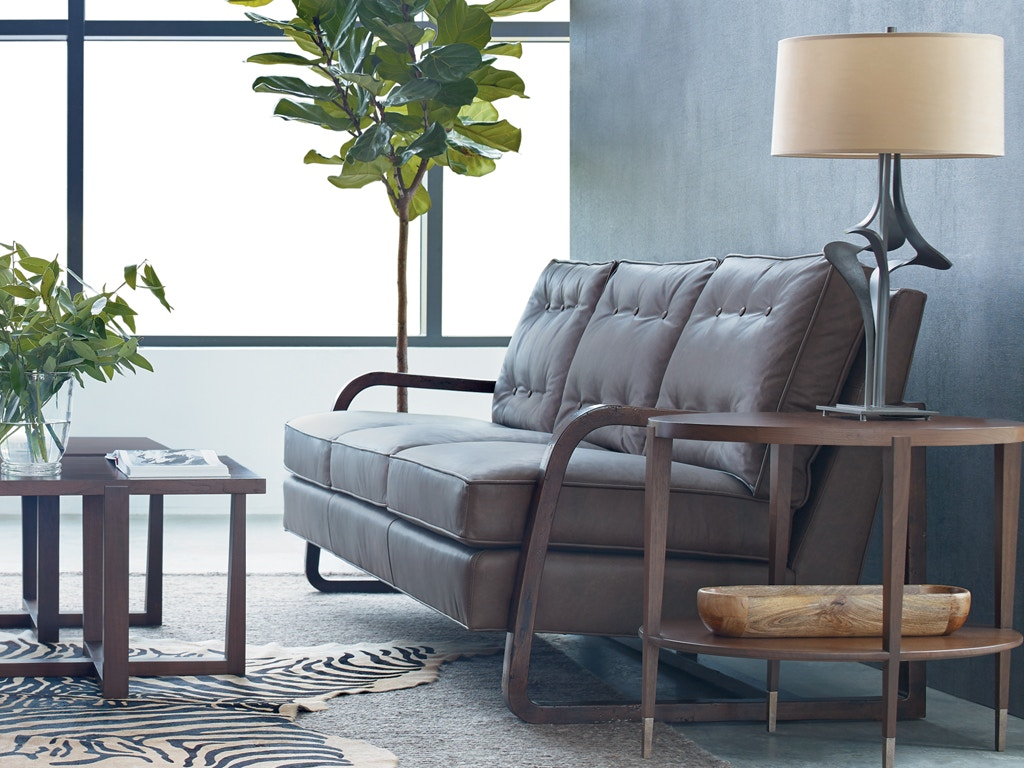 Stickley Zac Oak Frame Sofa Ss 105 9806 81