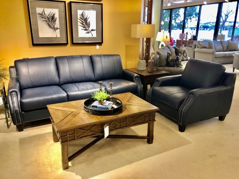 Smart Living Leather Sofa