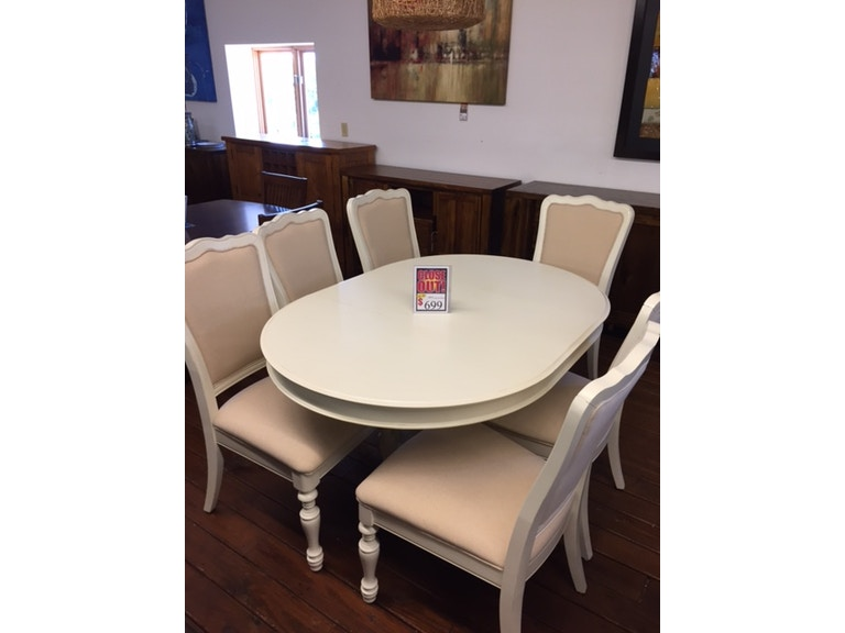 Riverside Placid Cove Round Dining Table And 6 Chairs 16753