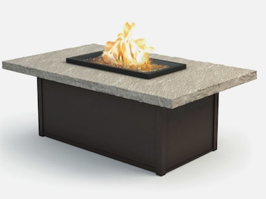 Homecrest Outdoor Patio Slate Outdoor Fire Table