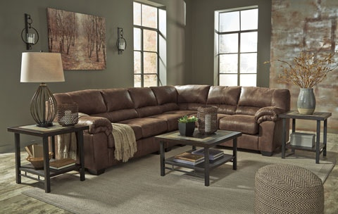 Signature Design By Ashley 3 Piece Sectional Sofa Available In Two