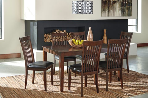 Ashley Dining Room Mallenton 7 Piece Dining Set D411 425 At Sides Furniture  U0026 Bedding