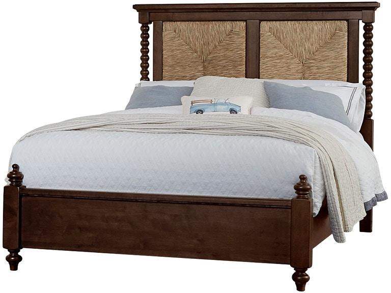 American Heirloom Seagr Bed W Low Profile Poster Footboard 180 667 766 933 Ms2