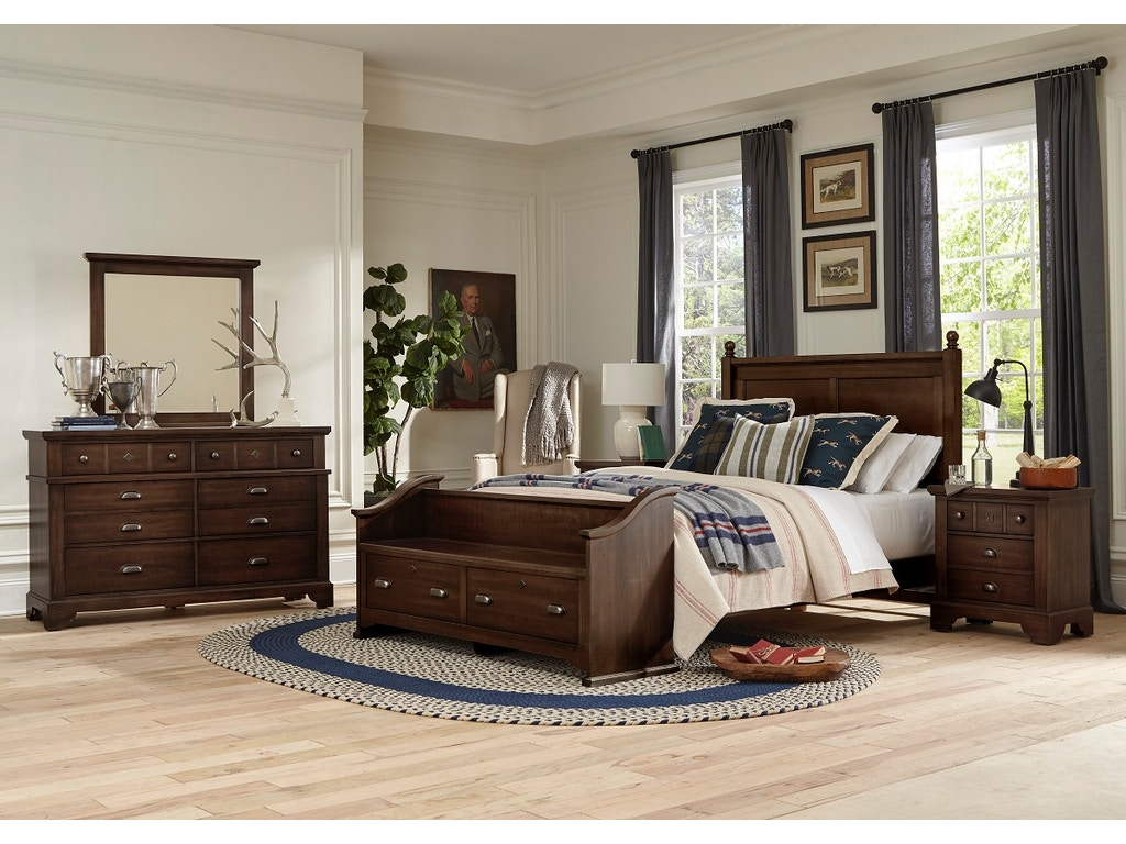 Superb Lmco Home Gilchrist Queen Poster Headboard With Low Profile Pdpeps Interior Chair Design Pdpepsorg