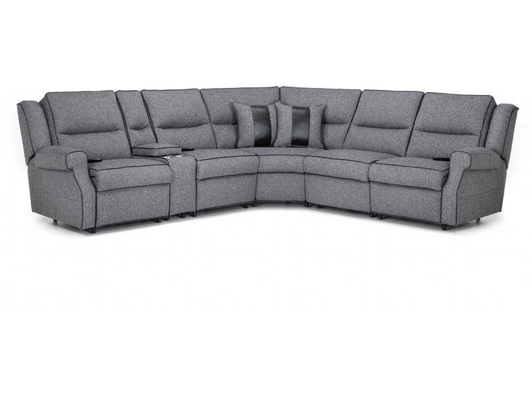 Franklin Power Reclining Sectional 759 Sectional Gavigan