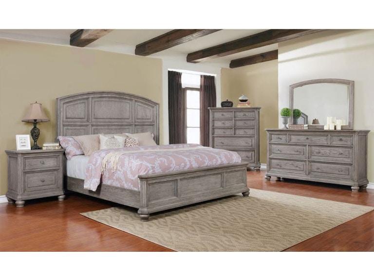 lifestyle anastasia queen bedroom set c6140a at gavigan s furniture