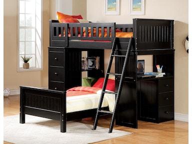 bedroom set with desk.  Youth Bedroom Sets