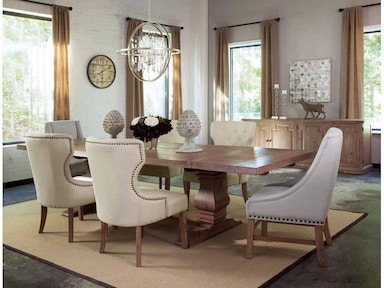 180201 7pc Dining Set Florence Table