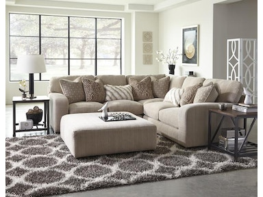 Jackson Furniture Serena Sectional in Oyster 2276 Sectional Oyster