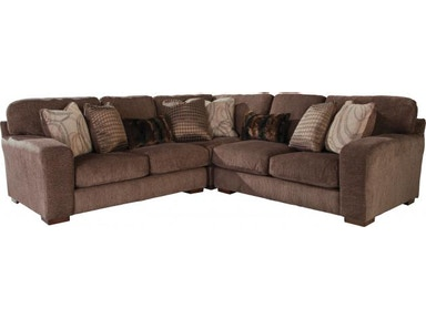 Jackson Furniture Serena Sectional in Truffle 2276 Sectional Truffle