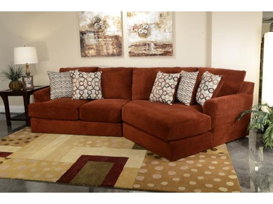Jackson Furniture Malibu Sectional in Adobe 3239 Sectional Adobe