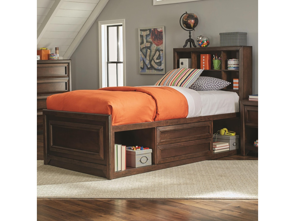 Coaster Greenough 5pc Twin Storage Bedroom Set 400820 Twin Set
