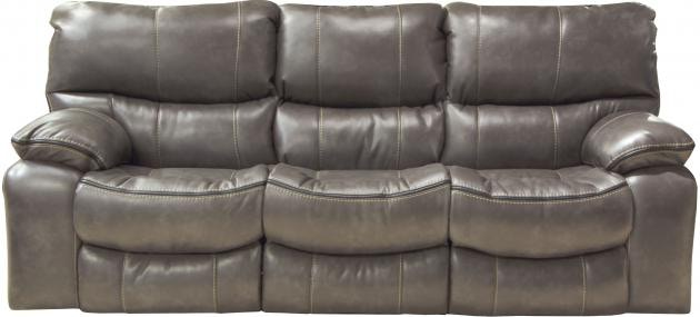 Catnapper Furniture Camden Lay Flat Reclining Sofa 4081 Steel