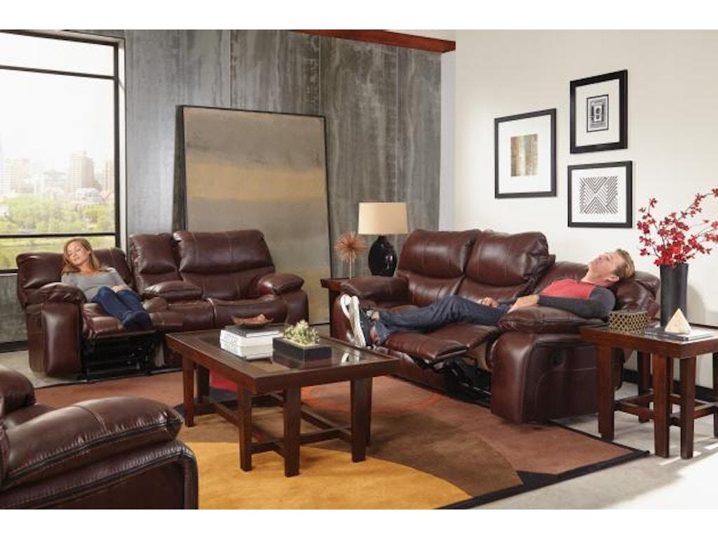Walnut Furniture Living Room Catnapper Furniture Living Room Camden Lay Flat Reclining Sofa