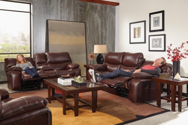 Catnapper Furniture Living Room Camden Lay Flat Reclining Sofa  ~ Lay Flat Reclining Sofa