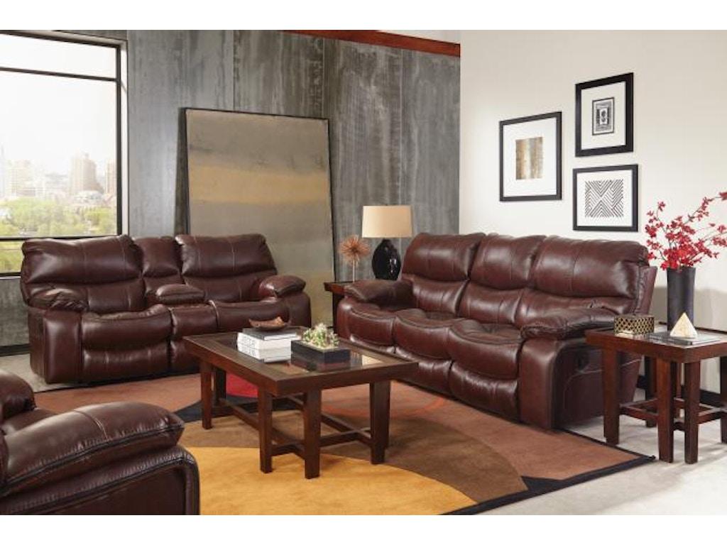 Catner Furniture Camden Lay Flat Reclining Sofa 4081 Walnut