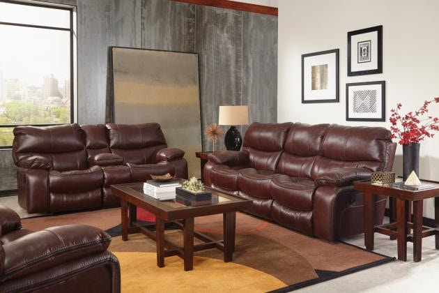 Catnapper Furniture Camden Lay Flat Reclining Sofa 4081 Walnut