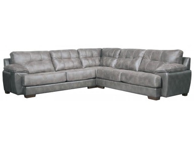 Jackson Furniture Drummond Sectional in Steel 4296 Sectional Steel