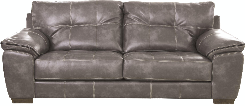 Catnapper Furniture Hudson Sofa U0026 Love (Grey W/ Black Stripe) 4396 03