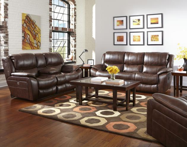 Catnapper Furniture Beckett Reclining Sofa 4511 Java