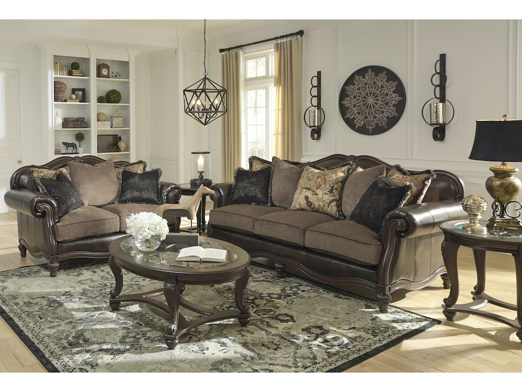 Winnsboro durablend sofa loveseat Ashley couch and loveseat