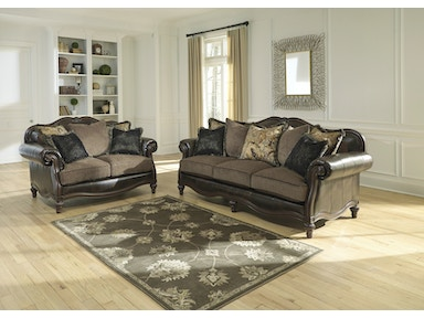 Ashley WINNSBORO DURABLEND® SOFA & LOVESEAT 556 SET