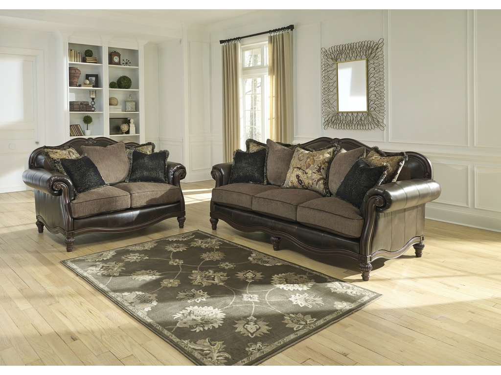 Winnsboro Durablend Sofa Loveseat