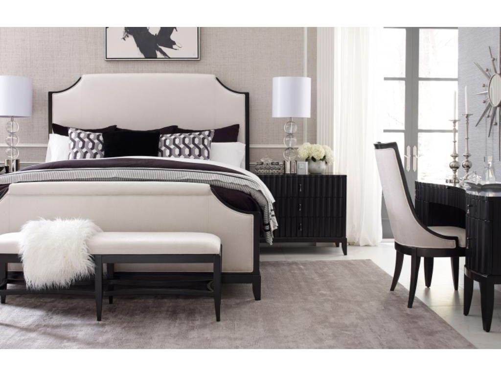 Symphony 5pc Bedroom Set w/ Upholstered bed