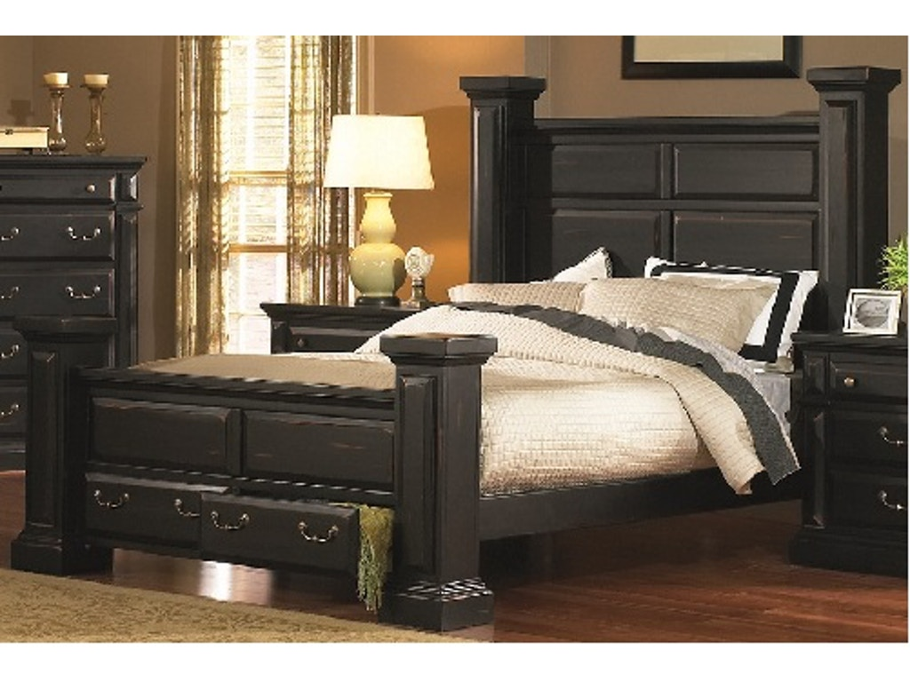 Torreon Black Pc Bedroom Set - Progressive furniture bedroom sets