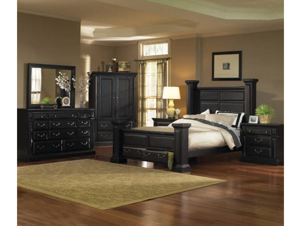 Torreon Black 5pc Bedroom Set