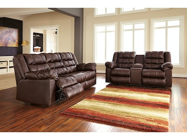 Ashley Brolayne Reclining Sofa & Love 83202 SET