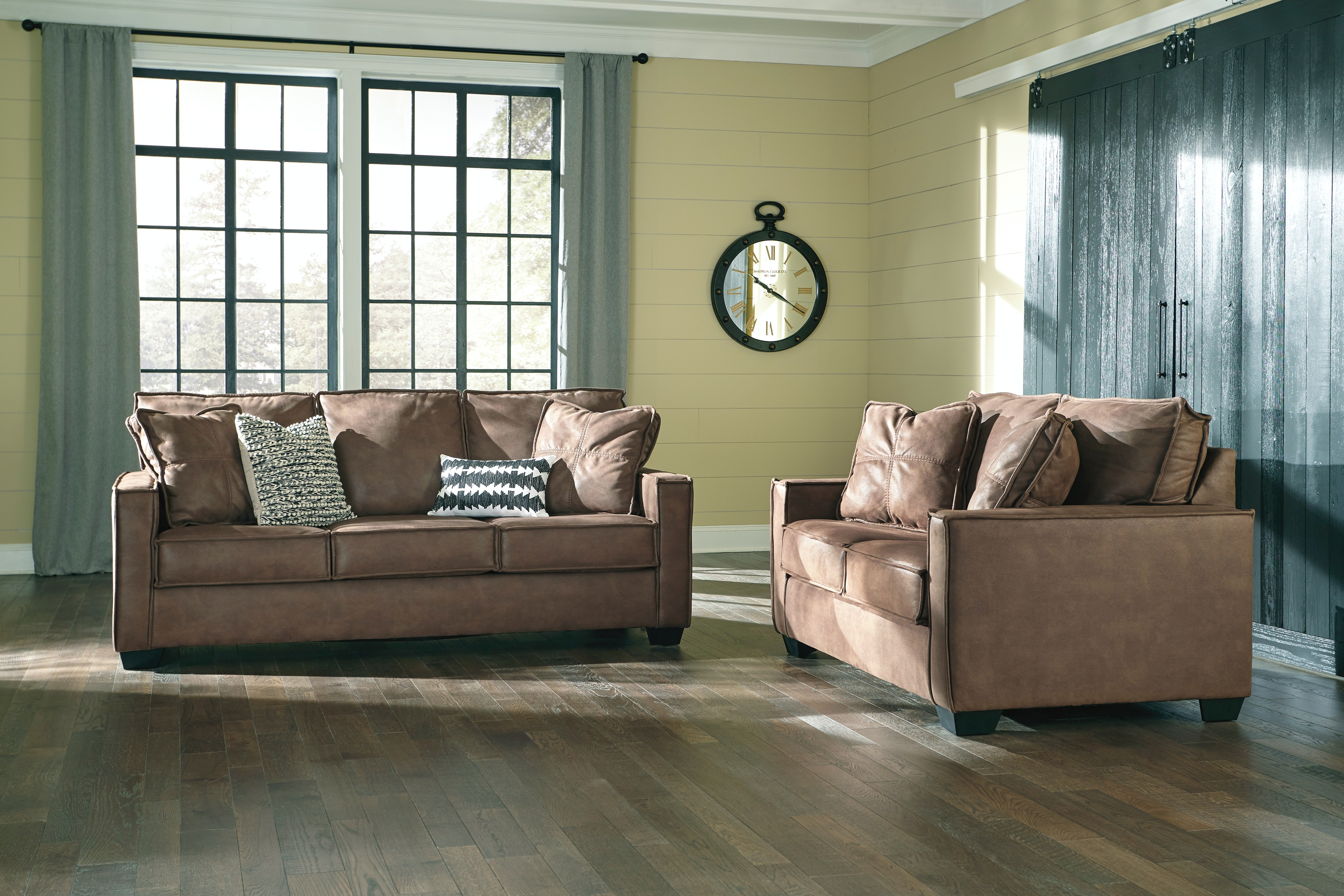 Signature Design by Ashley Living Room Loveseat Winner Furniture Louisville