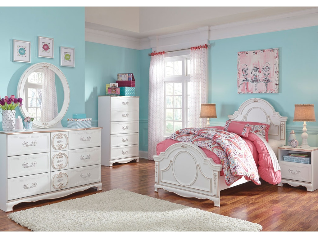 Korabella PRINCESS BEDROOM 5pc Bedroom Set: Princess headboard ...