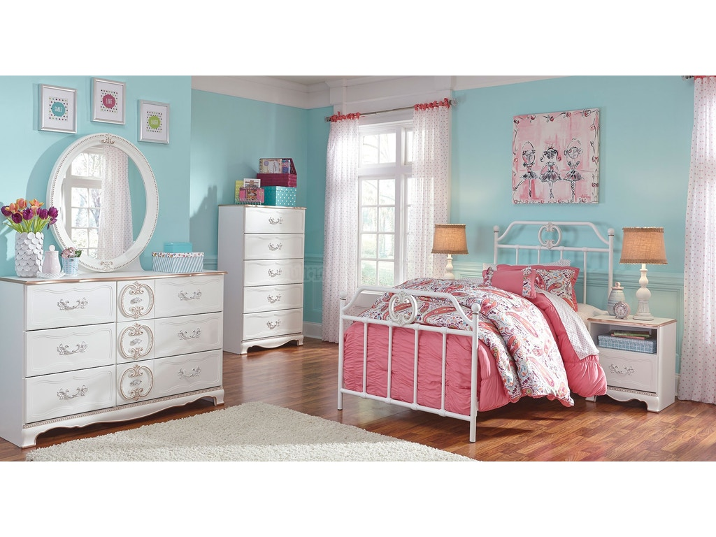 Korabella Metal PRINCESS BEDROOM 5pc Bedroom Set: Princess ...