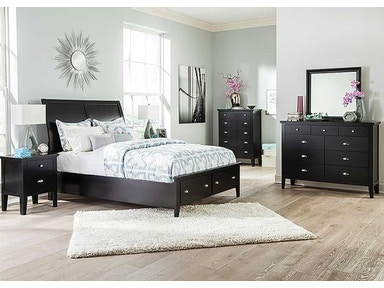 Ashley Braflin 5pc Storage Bedroom Set: B591-54S/57/96S/31/36
