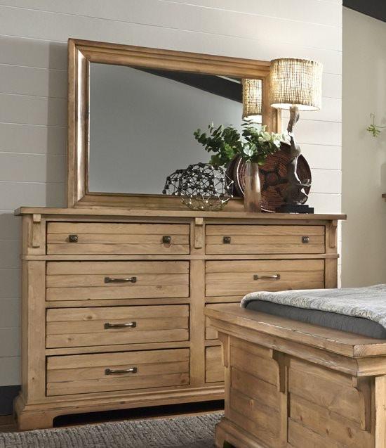 Progressive Furniture Chestnut Hill Harvest Pine 5pc B615/B616