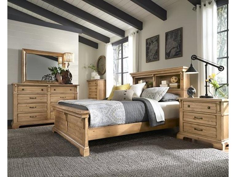 Chestnut Hill Harvest Pine Pc - Progressive furniture bedroom sets