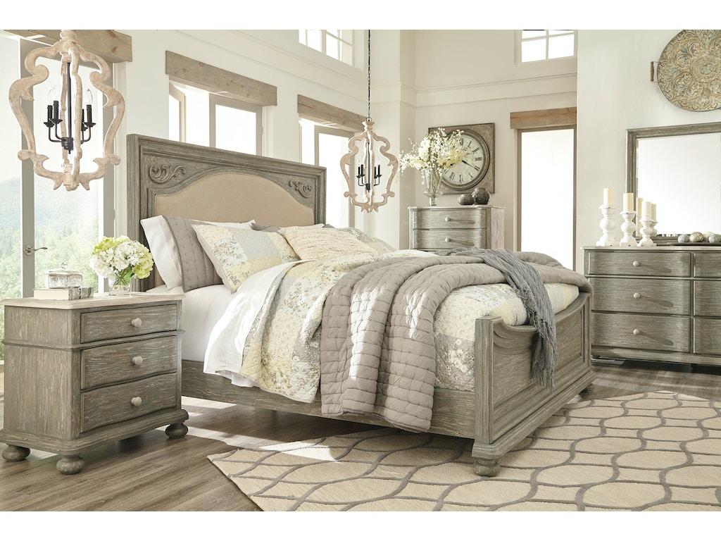 Marleny Whitewash 5pc Bedroom Set