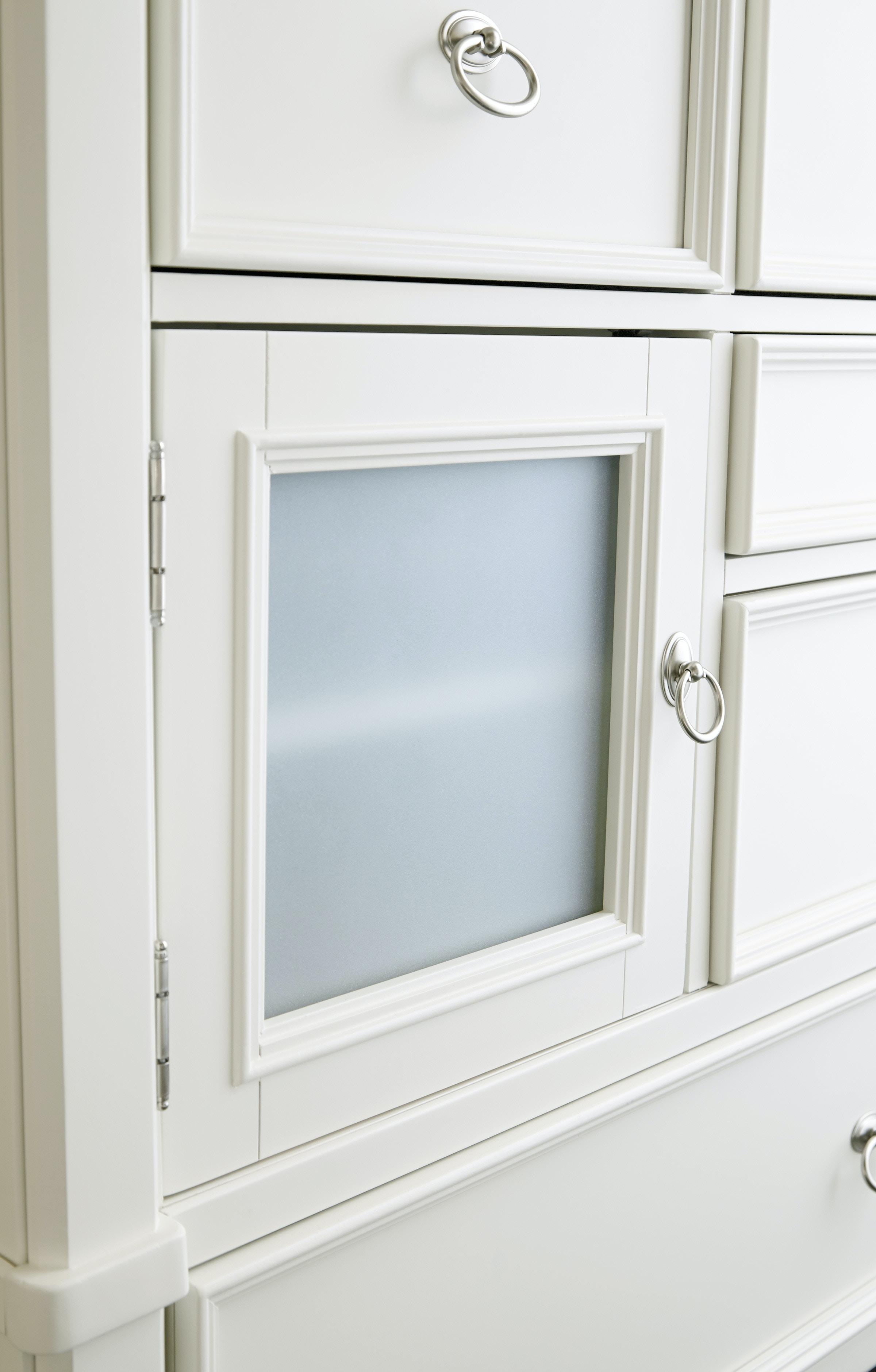 Millennium Prentice 5pc Bedroom Set (White) B672 74/77/98/