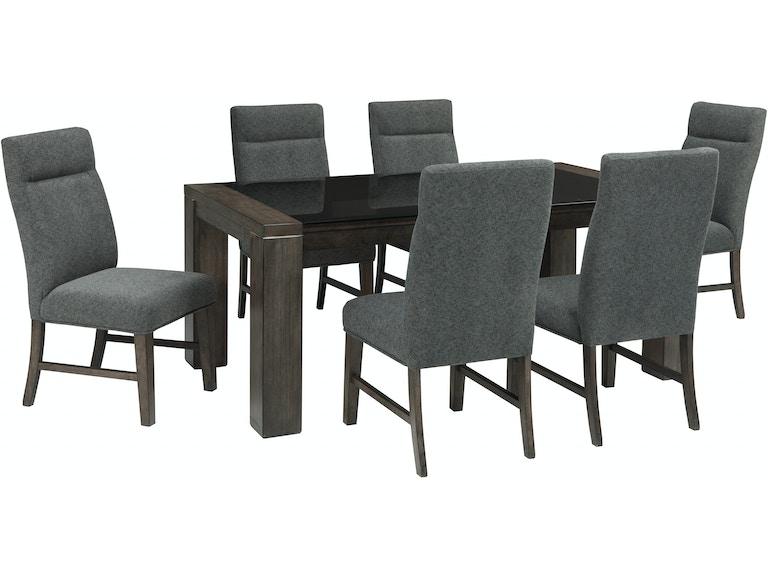 Ashley Chansey 7pc Dining Room Set D667 SET