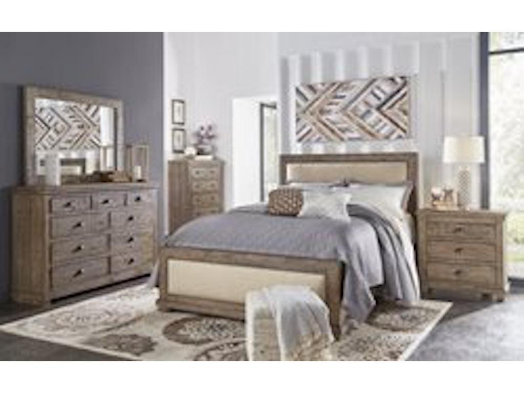 Willow Weathered Grey Pc Set - Progressive furniture bedroom sets